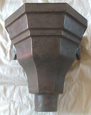 Cast Iron Drain Hopper/Wall Mounted Flower Pot/Planter - unpainted - Empire