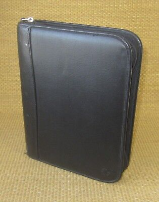 Classic 1.5 Ring Black Leather Sim. Leather Franklin Covey Plannerbinder