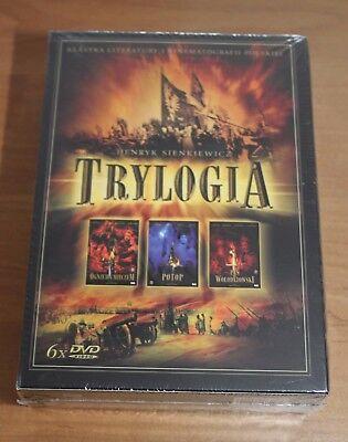 TRYLOGIA - Sienkiewicz / Jerzy Hoffman -  Box 6 DVD - Region ALL Hoffman-box