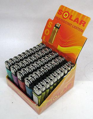 WHOLESALE LOT OF 50--  DISPOSABLE CIGARETTE LIGHTERS-ACE50