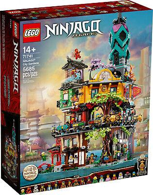LEGO® NINJAGO - 71741 NINJAGO® City Gardens - ungeöffnet versiegelt OVP |...