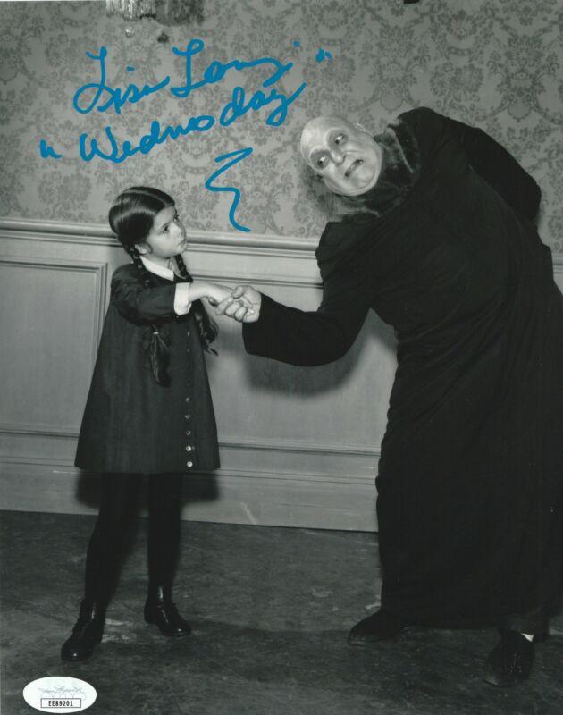 Lisa Loring Autograph 8x10 Photo The Addams Family Wednesday Signed JSA COA 2