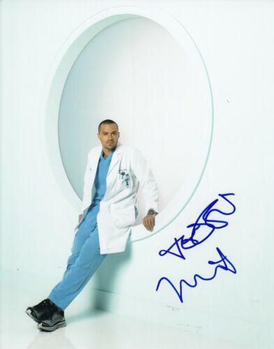 JESSE WILLIAMS signed (GREY'S ANATOMY) 8X10 *Dr Jackson Avery* photo W/COA #1