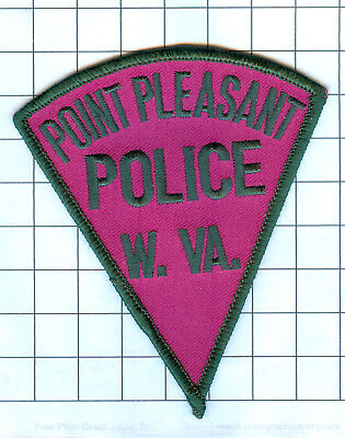 Police Patch  - West Virginia - Point Pleasant  W. VA.