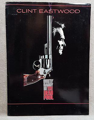 1988 Movie Press Kit Dirty Harry in the Deadpool Clint Eastwood.
