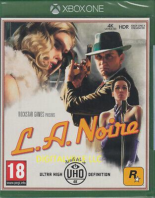 L.A. Noire Xbox One Brand New Factory Sealed LA Noir