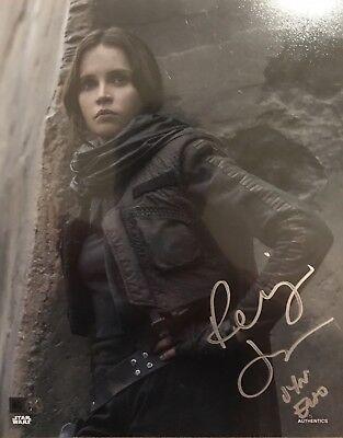 Felicity Jones Signed Photo