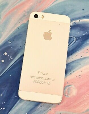 Apple iPhone 5S 16GB Unlocked Silver Very Good Condition