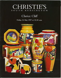 CLARICE CLIFF CHRISTIES 1997 AUCTION CATALOGUE