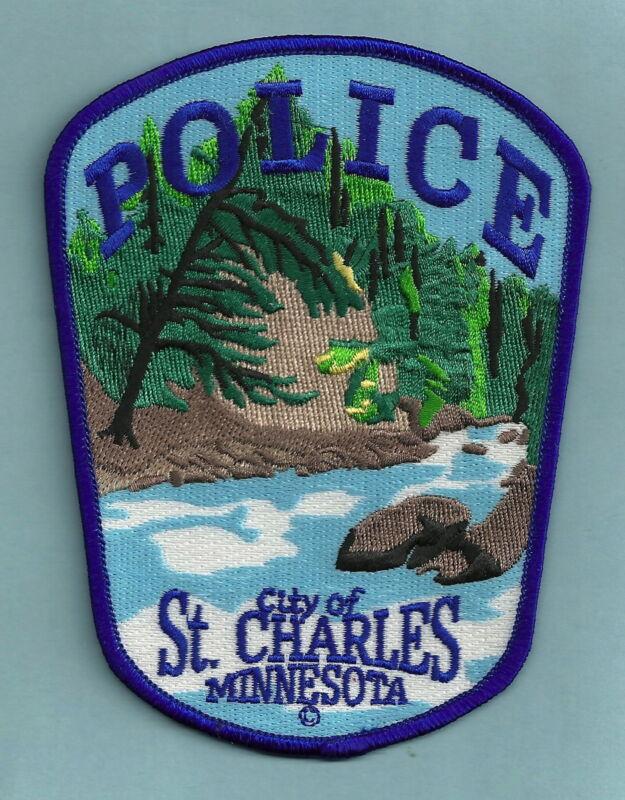 ST. CHARLES MINNESOTA POLICE SHOULDER PATCH