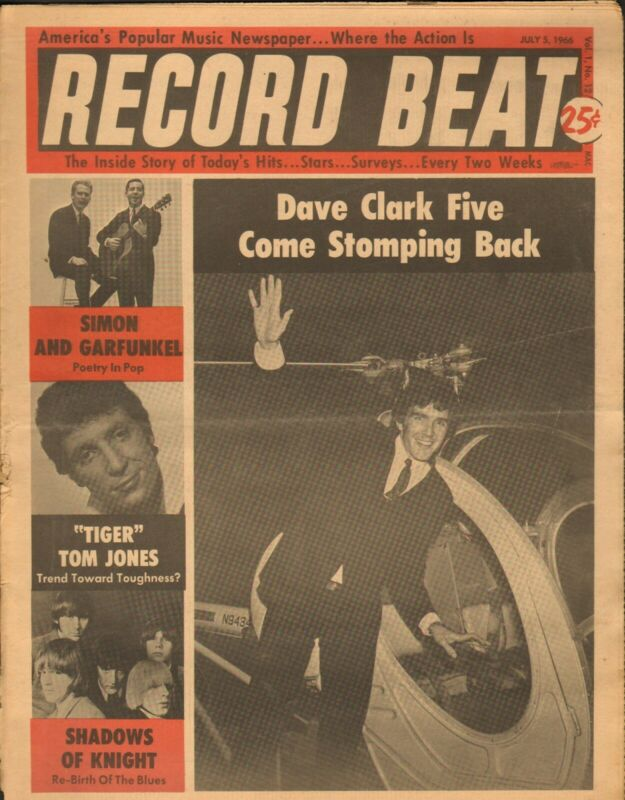 Record Beat Paper-July 5 1966 Dave Clark-----12