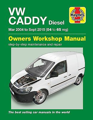 6390 Haynes VW Caddy Diesel Mar 2004 - Sept 2015 Workshop Manual