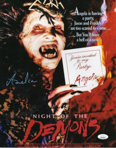 Amelia Kinkade Autograph Signed 11x14 Photo - Night of the Demons (JSA COA)