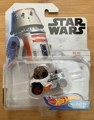 Star Wars Hot Wheels R5-D4 Character Cars
