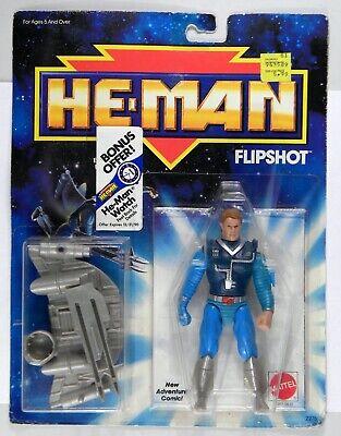 Mattel Toys MOTU He-Man Masters of the Universe Flipshot rare MOC