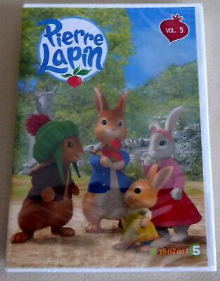 !!! DVD NEUF - PIERRE LAPIN vol. 5 : 14 épisodes !!!