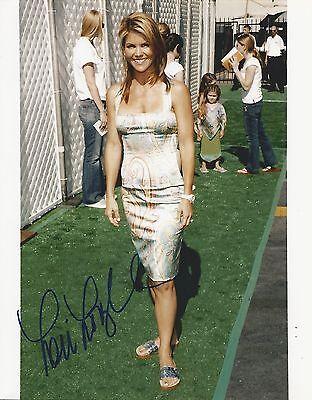 Lori Loughlin hand signed 8x10 photo, with COA