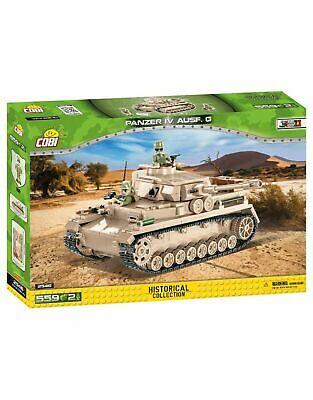 Cobi 2546 Panzerkampfwagen IV Ausf. G - 555 Teile / 2 Figuren Vorbestellung