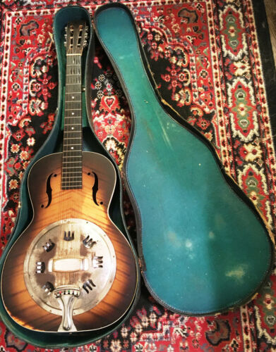 1935-37 National Rosita Resonator - Awesome Tone - Good Playable Condition - SSC