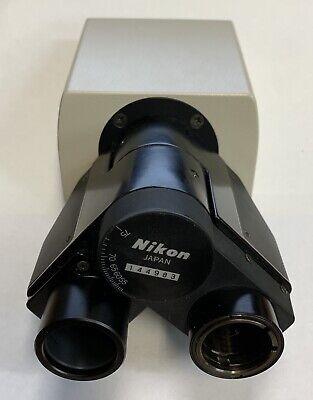 Nikon Labophot Optiphot Pol Microscope Binocular Head Bertrand Lens Petrographic