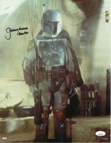 "Jeremy Bulloch Autograph Signed 11x14 Photo - Star Wars ""Boba Fett"" (JSA COA)"