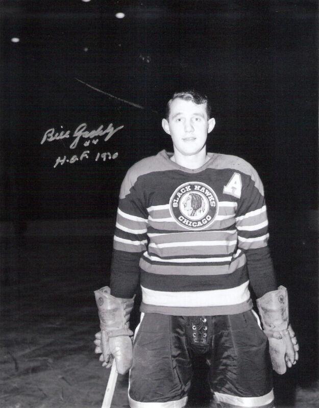 Bill Gadsby Autographed 8x10 Photo