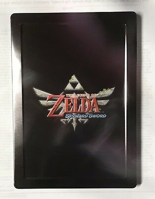 Used, zelda skyward sword (Case Only) Collectors Case Nintendo Wii Xbox Ps3 4 Free for sale  Orono