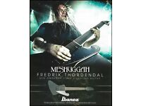 Meshuggah Crest Patch 10cm x 6.5cm