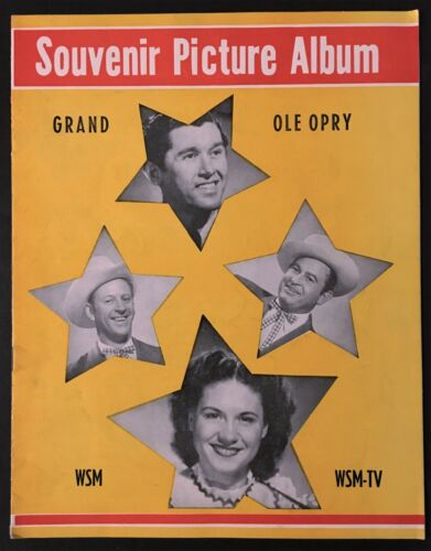 "1954 WSM ""GRAND OLE OPRY"" SOUVENIR PROGRAM - KITTY WELLS, ACUFF, JOHNNIE & JACK"