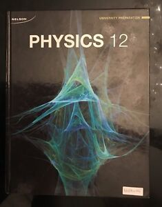 NELSON Physics 12 Textbook