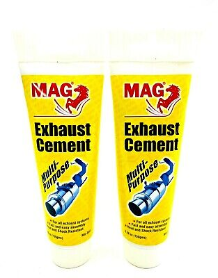 2 x EXHAUST CEMENT ASSEMBLY PASTE MULTI-PURPOSE USE ALL EXHAUST SYSTEMS 150G