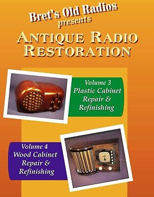 Antique Radio Restoration Vols 3 & 4; Buy-1-Get-1 FREE!
