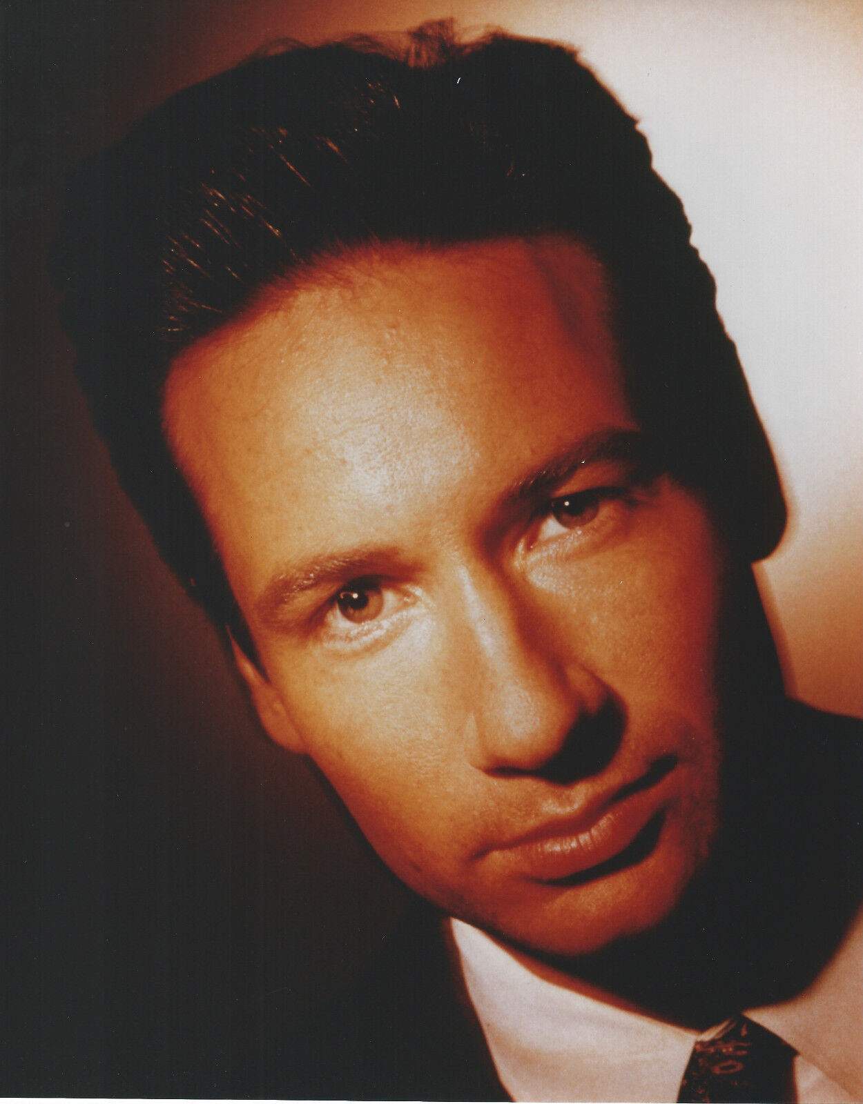DAVID DUCHOVNY X-FILES 8 X 10 PHOTO WITH ULTRA PRO TOPLOADER - $3.99