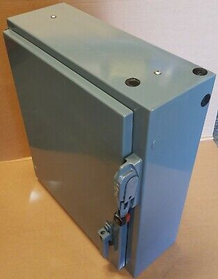 24x20x8 Industrial Electrical Enclosure Panel Box With 600v 30a Safety Switch