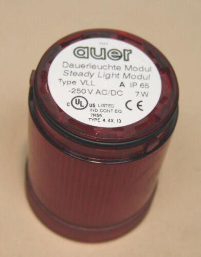 Auer Dauerlicht Type VLL Rot 250V AC/DC 7W
