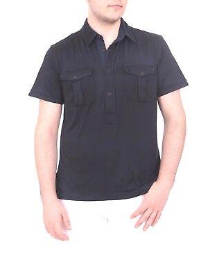 $185 Ralph Lauren Black Label Slim Pima Cotton Jersey Navy Blue Polo Shirt Small Polo Ralph Lauren Black Label