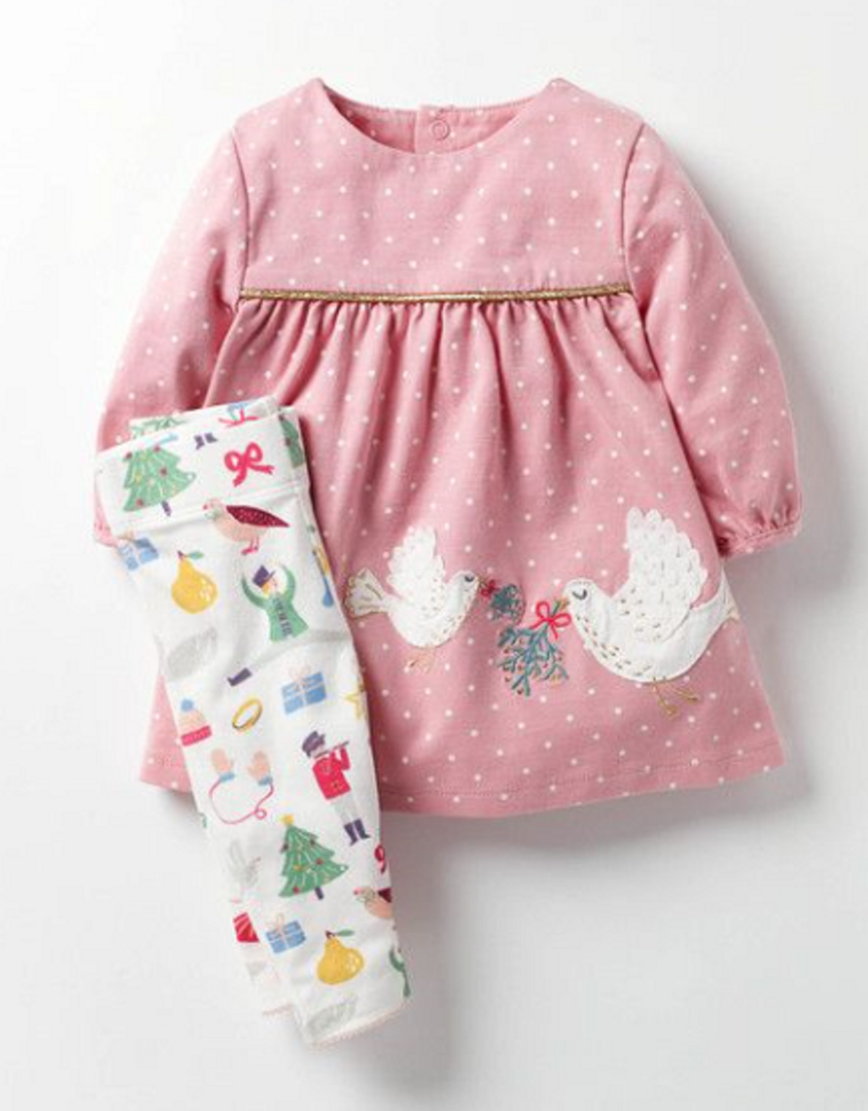 Baby boden girls dress leggings set outfit 0 3 6 9 12 18 mon