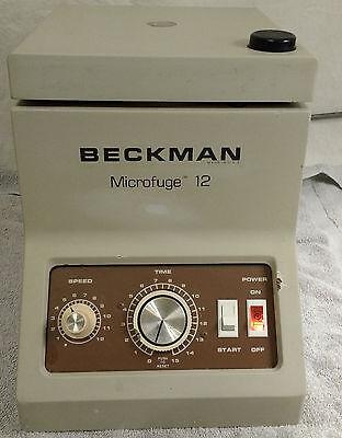 Beckman Microfuge 12 Laboratory Centrifuge