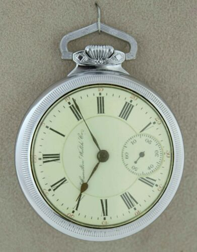 Vintage 1900 Hamilton Grade 941 Model 2 21 Jewels Size 18s Pocket Watch