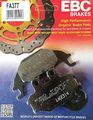 EBC/FA377 Brake Pads (Rear) - Yamaha YZF-R125 08-16, MT125 14-16