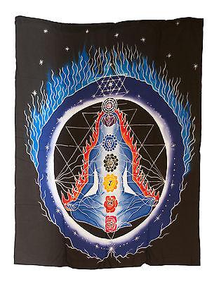 Batik Chakra Connection Hanging Cotton Handmade 106x82cm 3969 U