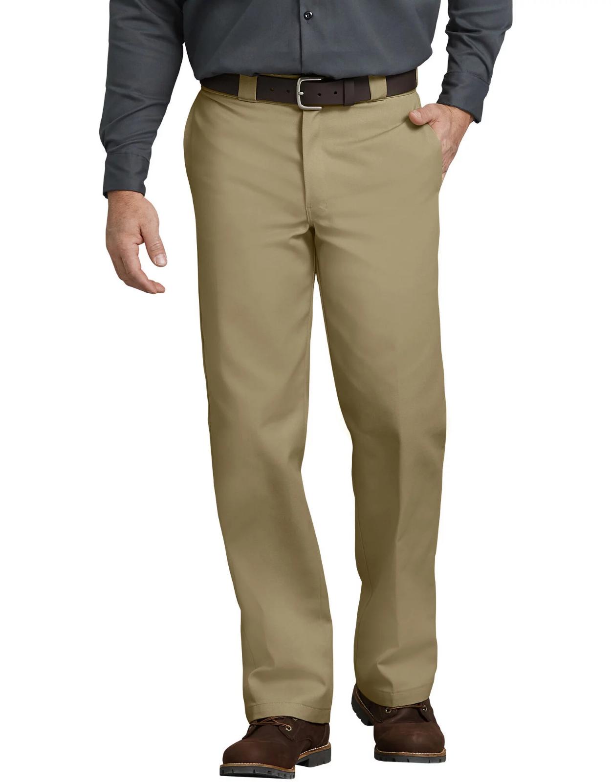 NWT Mens Dickies 874 Original Fit Military Khaki Work Pants