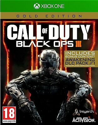 Call of Duty Black Ops 3 III Gold Edition For XBOX One (New &