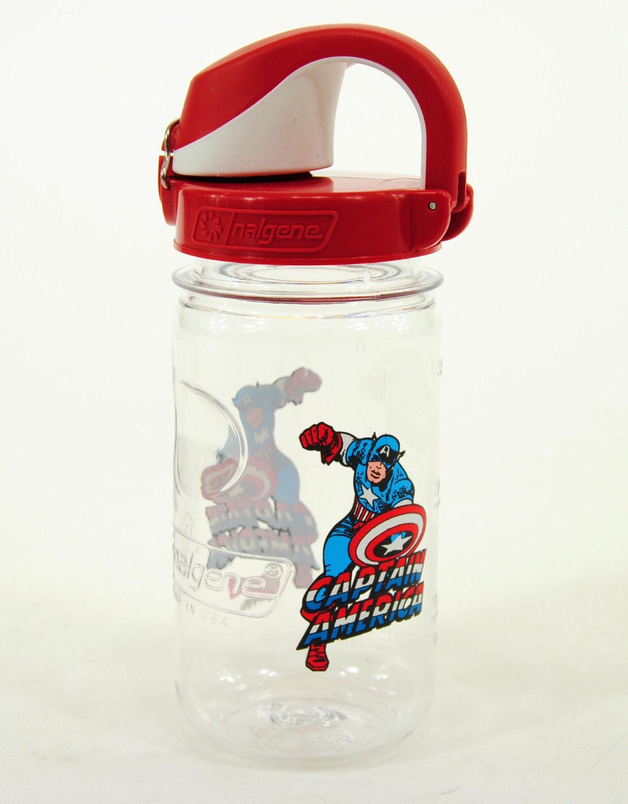 Nalgene Kid's On the Fly Marvel Tritan Water Bottle - 12 oz