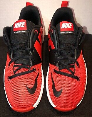 2016 Nike Team Hustle D7 Low Basketball Shoes Youth 6Y 834318~006