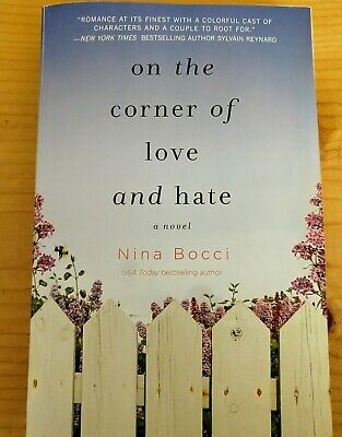 Novel 'On The Corner Of Love And Hate' By Nina Bocci NY Times Bestselling
