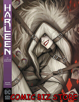 HARLEEN #3 (OF 3) (2019) 1ST PRINTING SEJIC MAIN COVER DC BLACK LABEL ($7.99)
