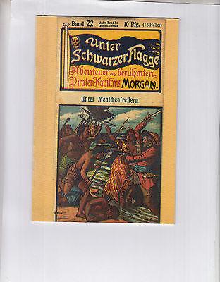 Unter schwarzer Flagge - Reprint/Nachdrucke der Heftserie 1907 - 72 verschiedene