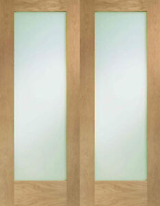 Oak Patt 10 internal french doors