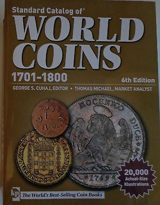 Standard Catalog of World Coins 1701-1800 englisch 6th Edition ~